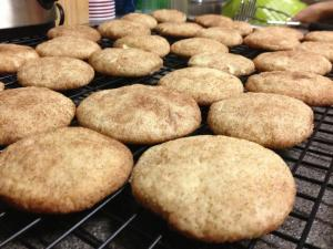 Snickerdoodle cookies. Photo: Esther Kum/Estie Cakes