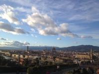 Piazza del Michaelangelo, Florence, March 2015