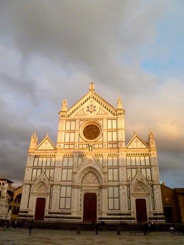 Santa Croce, Florence, March 2015
