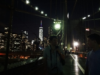 Brooklyn Bridge, Brooklyn, NY, Summer 2015 (Eric, included)