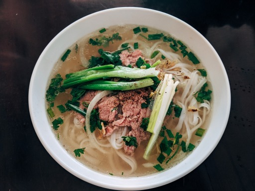 A bowl of pho. Photo by Markus Winkler.